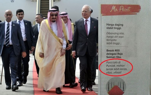 Kolom Di Surat Kabar Ini Lecehkan Delegasi Raja Salman Sekaligus Menuai Kecaman Umat Muslim
