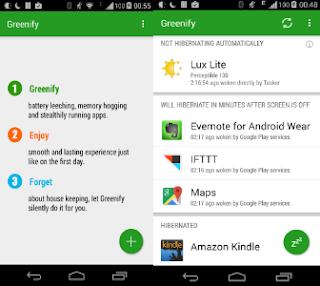 تطبيق Greenify