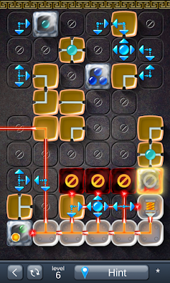 Solution for Laser Box - Puzzle (Royal) Level 6