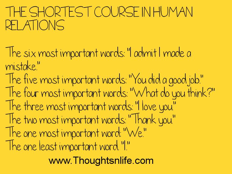 Human Relations Quotes. QuotesGram