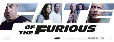 The Fate of the Furious Banner Poster 3