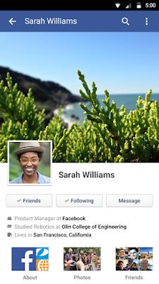 تحميل برنامج فيس بوك للموبايل