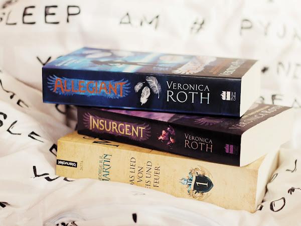 Leseliste 2017 - Bücher und Buchreihen, die ich dieses Jahr unbedingt lesen möchte