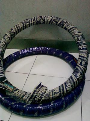 photo modifikasi motor vixion velg jari-jari