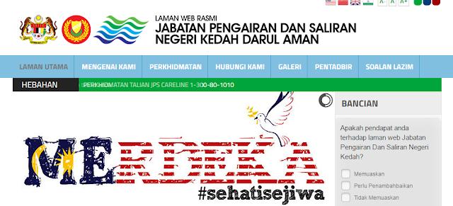 Rasmi - Jawatan Kosong (JPS Negeri Kedah) Darul Aman Terkini 2019
