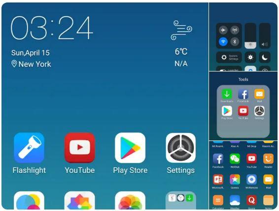 لآنشر لتحويل هاتفك إلى واجهة الآيفون X Launcher Prime