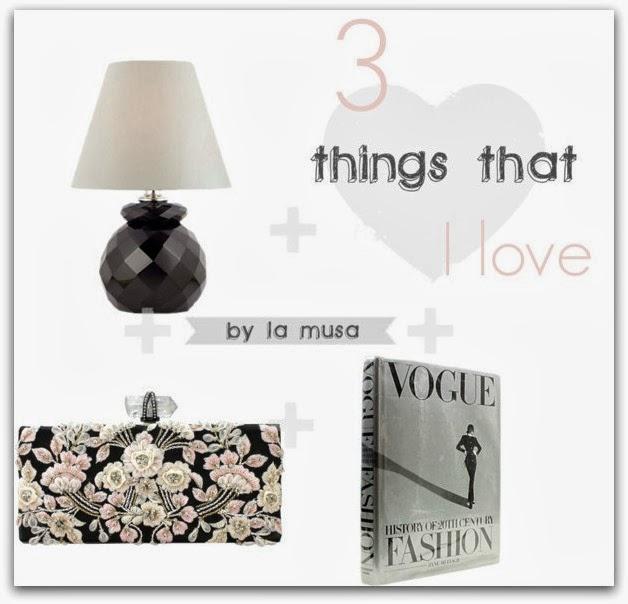 3 things I love by La Musa. Hogar,