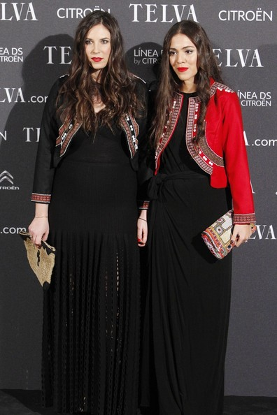 Tatiana Santo Domingo and Dana Alikdahi at the Telva Awards. Tatiana Santo Domingo is pregnant. she confirmed the news yesterday at the Telva Awards