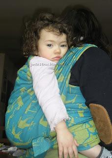 babywearing wrap écharpe portage volgasling mesolithic jacquard