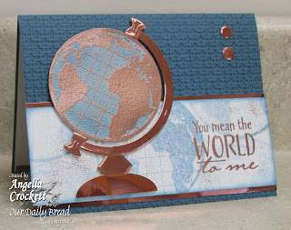 Stamps - Our Daily Bread Designs The Earth, ODBD Custom Circle Ornaments