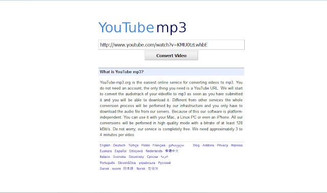 افضل موقع تحميل صوت من اليوتيوب بصيغة mp3