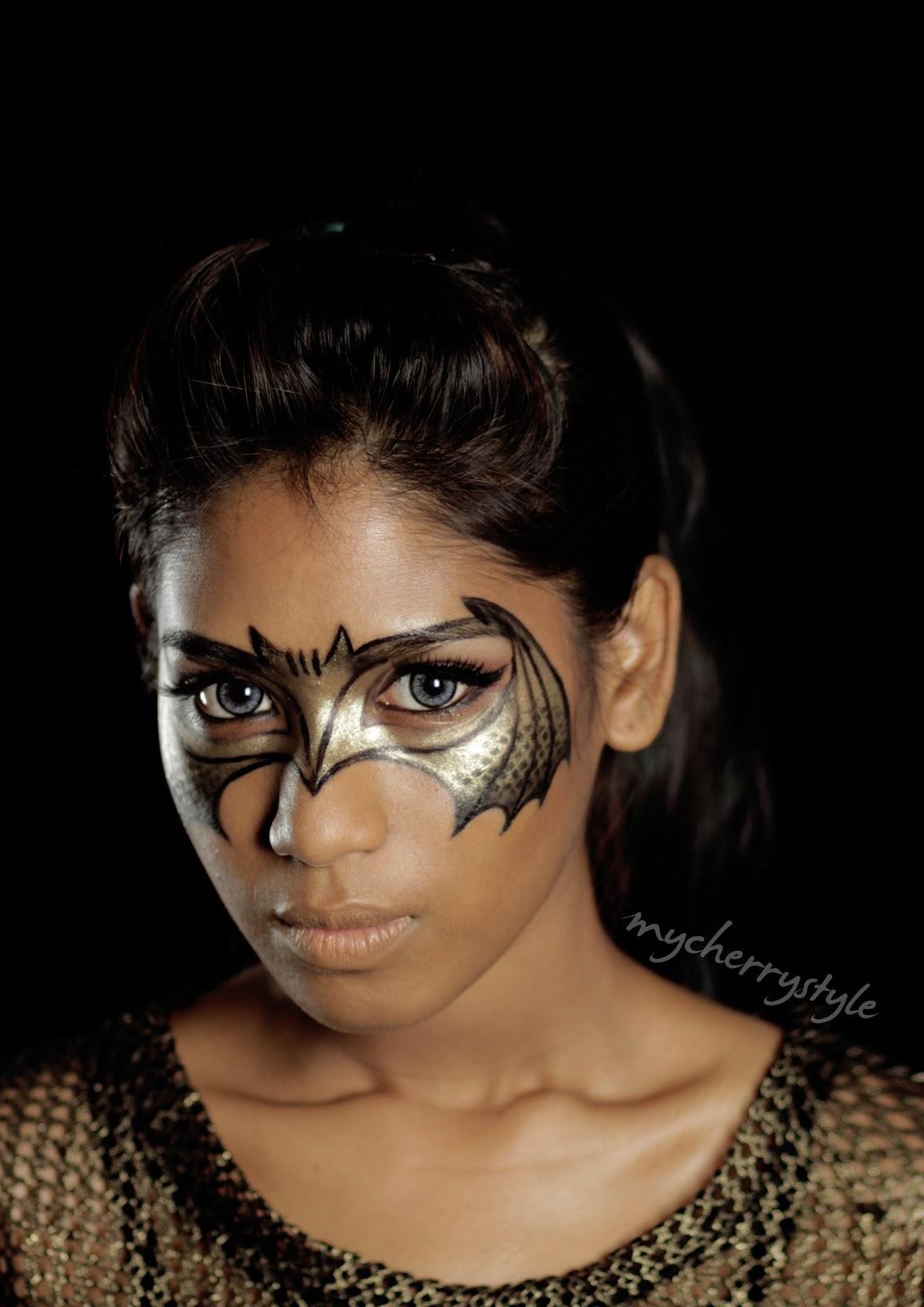 "My Cherry Style: Creative Makeup: ""Bat Your Eyes"" Tutorial"