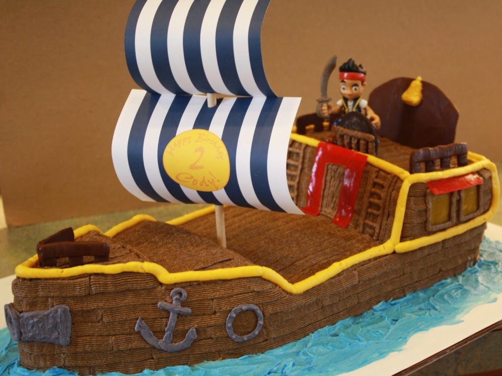 Party Cakes Pirate Ship Cake