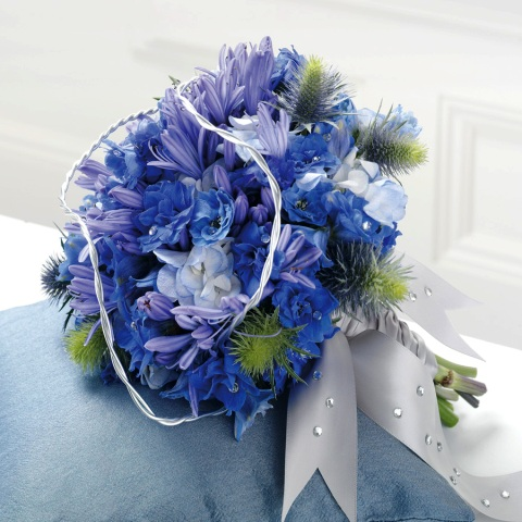 Types Of Blue Flowers For Weddings
