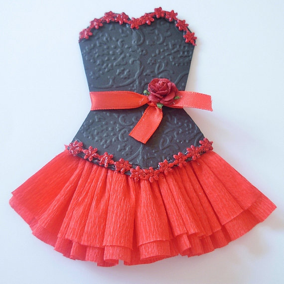 Sandy's Creations in Clay: Paper Dresses ~ Beautiful ...