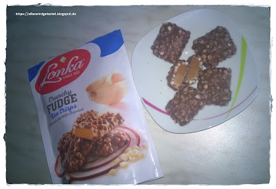 Lonka Crunchy Fudge Rice Crisp Milchschokolade