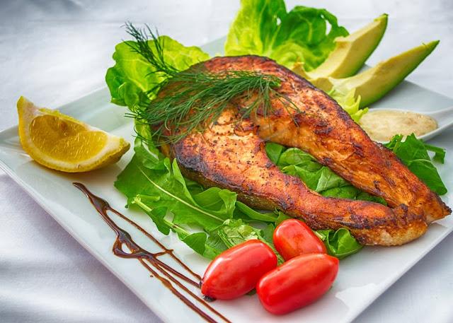 Diet Food Plan - Healthy Lifestyle Diet - Fish