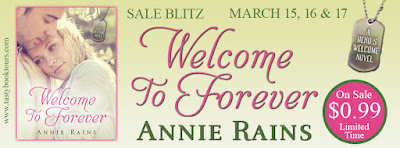Sales Blitz:  Welcome to Forever – Annie Rains