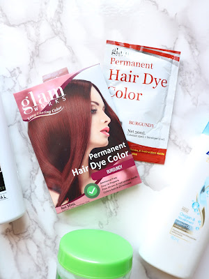 Glam Works Hair Dye Review
