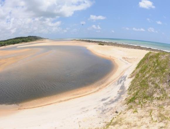 Foz do Rio Guaju