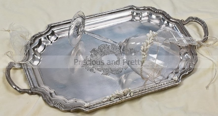 Greek wedding tray N699