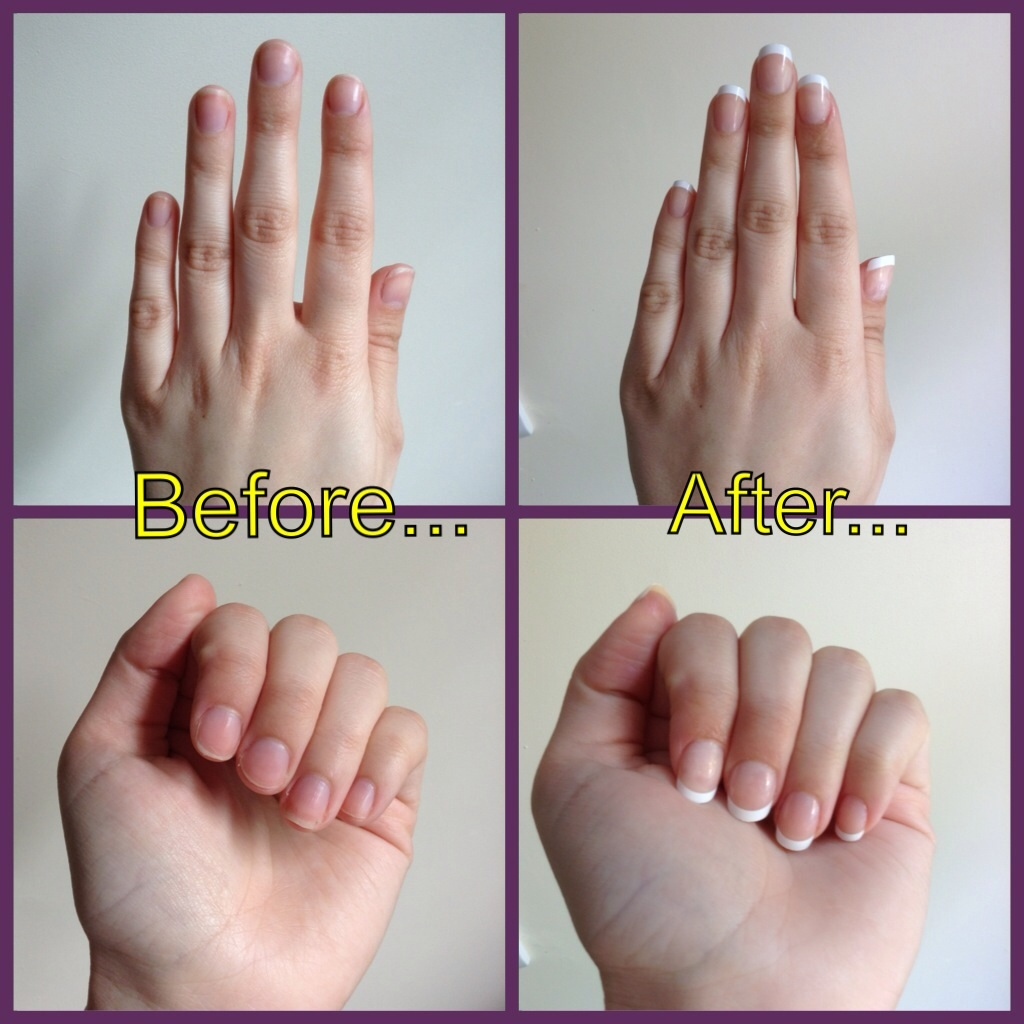 Elegant Touch French Manicure | The Rager Wager Blog