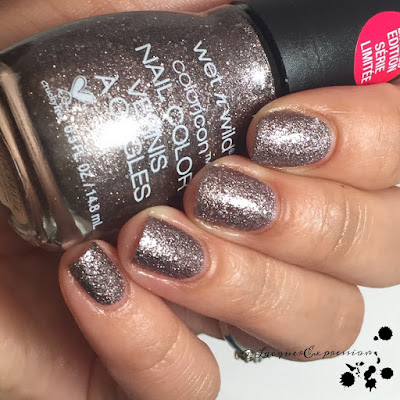 nail polish swatch of where my ho ho hos at? from the we're the wild cats holiday collection by wet n wild