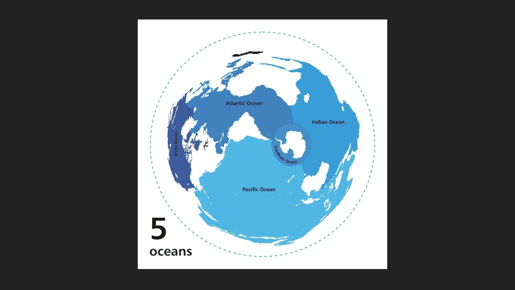 Ilustrasi pembentukan samudera