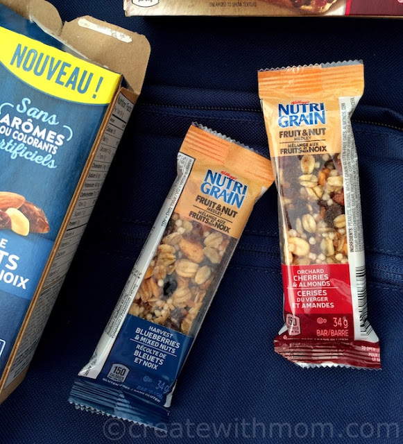 Kellogg's snacks nutri grain fruit and nut
