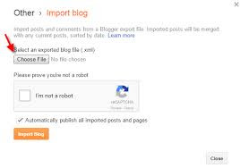 Importing post