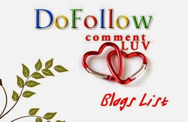 100+ High Pagerank Dofollow CommentLuv Blogs 2014