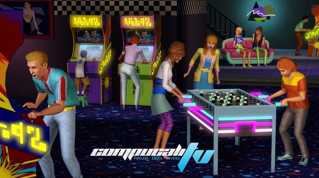 Los Sims 3 70s 80s y 90s Accesorios Pack Expansión Español