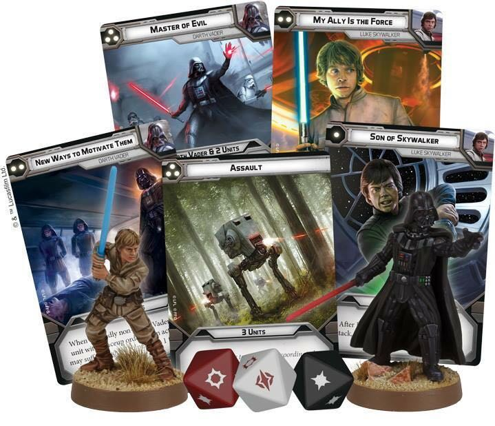 Cartas de mando Star Wars Legion