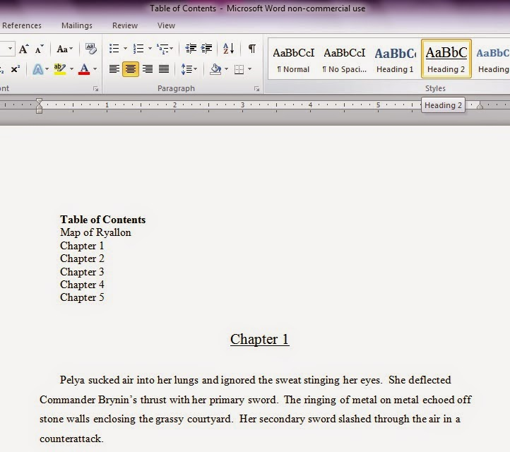 The World Of Ryallon: How To Make A Clickable Table Of