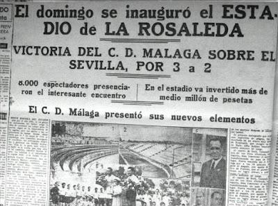 Resultado de imagen de entrada inauguracion de la rosaleda