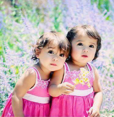 Cute Twins Babiesthey Are Simply Great Kids