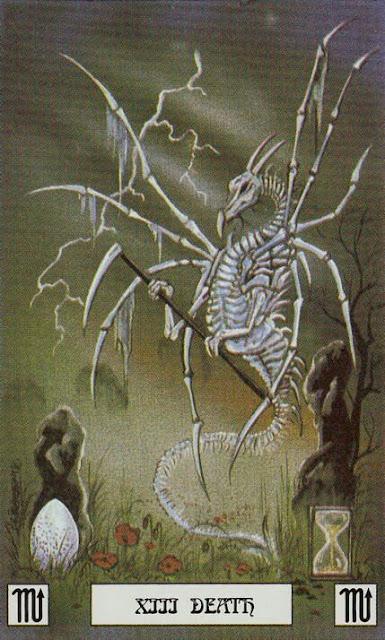 Tarot en D&D - La Muerte