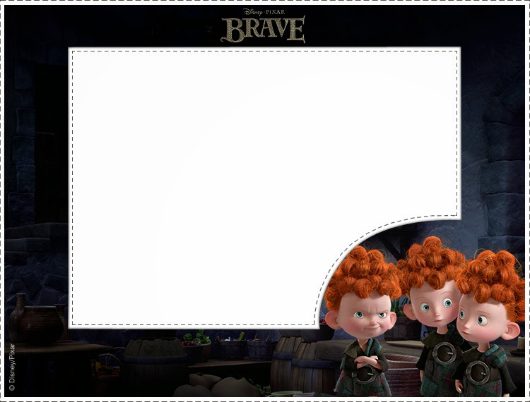 Brave Party: Free Printable Invitations.