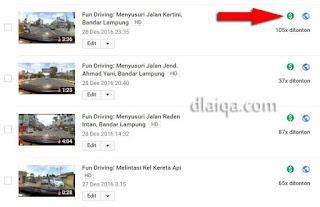 status video di-monetisasi