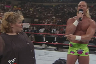 WWE / WWF - Summerslam 1999 - Bad Bum Billy Gunn and a Big Fat Woman