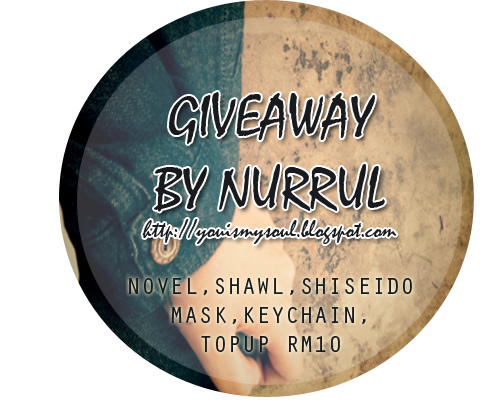 http://youismysoul.blogspot.com/2015/03/giveaway-by-nurrul.html
