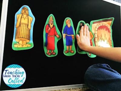 Daniel 3 Felt Board Set