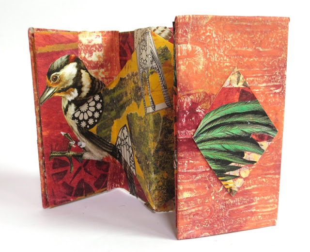 Cutout accordion book