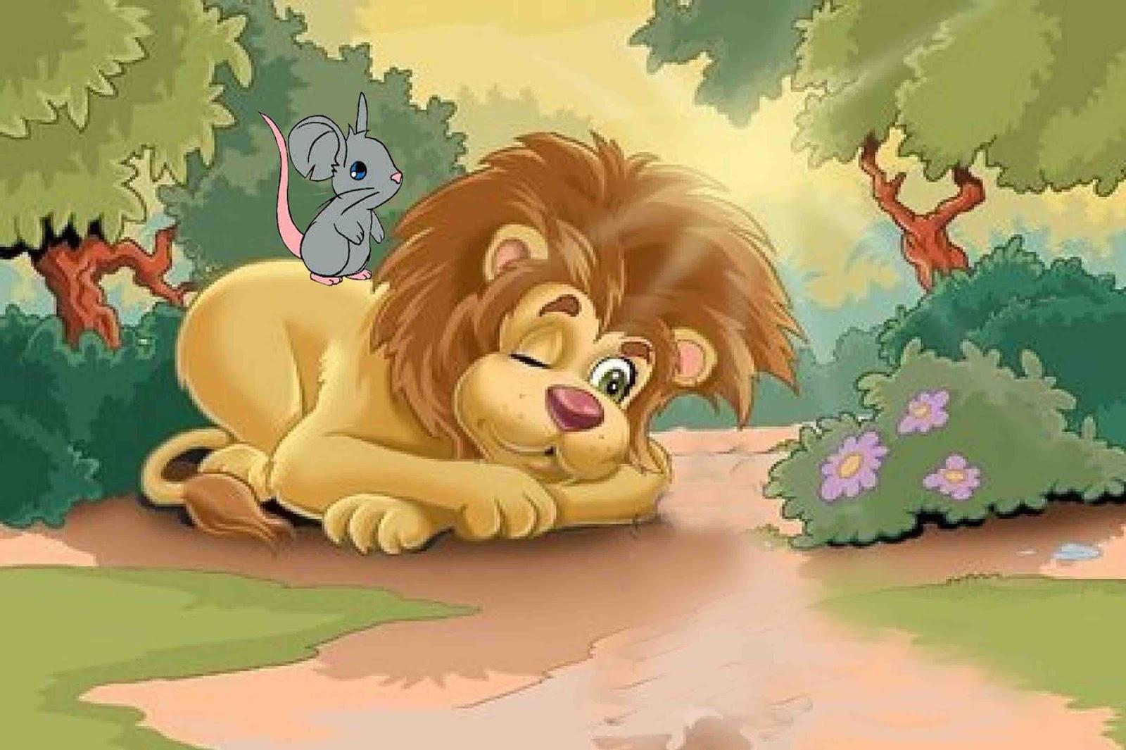 Resultado de imagen para El león y el ratón