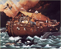 Setiap suku bangsa di bumi ini pasti mempunyai dongeng soal banjir besar yang melanda seluruh bumi. Memusnahkan umat manusia, kecuali yang terselamatkan Tuhan atau dewa. Kisah ini bertebaran dari suku bangsa yang dikenal mempunyai peradaban maju hingga suku bangsa yang kurang mendapat tempat dalam catatan sejarah internasional.  Sebut saja mitos banjir Sumeria, Babylonia, Akkadia, Yunani. Lalu Irlandia, Jerman. Di Asia ada mitos banjir di Cina dan India. Di polinesia ada mitos Te aho arao, Ruatapu, Tawhaki dan Nuu. Indonesia sendiripunya mitos Naga Padoha di suku Batak dan Kapata Nuhu di Seram Utara.  Dari seluruh kisah banjir itu, hanya satu yang diyakini terjadi oleh masyarakat umum, yaitu kisah banjir di zaman Nabi Nuh. Tentu dengan ikonnya, kapal Nabi Nuh. Kisah ini berasal dari kitab agama-agama samawi atau agama Abrahamik.  Islam menyebar kisah ini dalam beberapa surat. Kitab Kejadian di Perjanjian Lama merinci kisahnya dalam pembuatan dan bentuk kapalnya, walau terjadi beberapa kontradiktif. Perjanjian Baru mengulasnya secara sepintas (baca: Dalam Berbagai Kitab).  Kebenaran kejadian ini menjadi dorongan tersendiri bagi para ilmuwan untuk melakukan penelitian sejarah, penggalian arkeologi dan mitologi. Penelitian difokuskan pada luas banjir. Alhasil ada 2  teori utama.  Pertama, yang menyakini banjir melanda seluruh bumi. Teori ini didasarkan hipotesa spekulatif tentang naiknya permukaan laut secara drastis yang mengakhiri zaman es. Versi lainnya yang kontroversial, Banjir disebabkan asteroid atau meteor besar menabrak bumi.Teori ini sejalan dengan kisah berikutnya, yaitu kisah menara Babel.