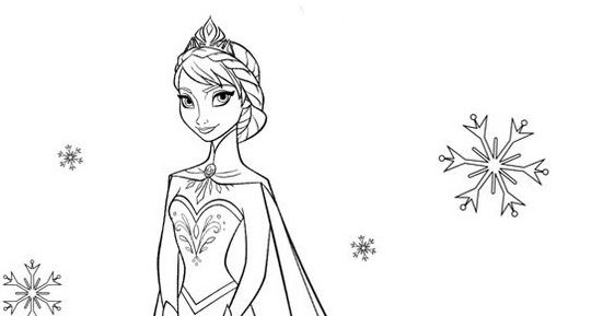 75 Gambar Mewarna Frozen Elsa Paling Keren Gambar Pixabay