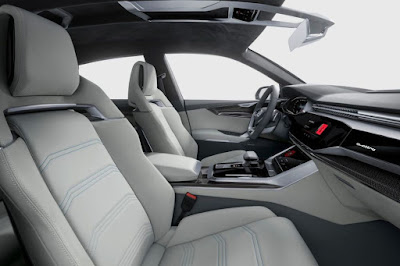 Audi Q8 SUV Concept Seat
