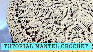 Cómo tejer un mantel redondo a crochet / Tutorial