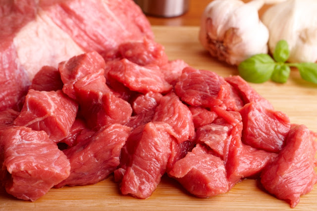 Amounts prepare beef on the way in Hungarian