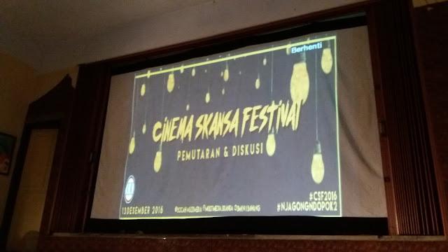 Cinema SKANSA Festival 2K16